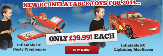 RC inflatable toys for 2014