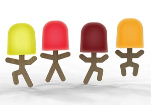Ice Lolly Men