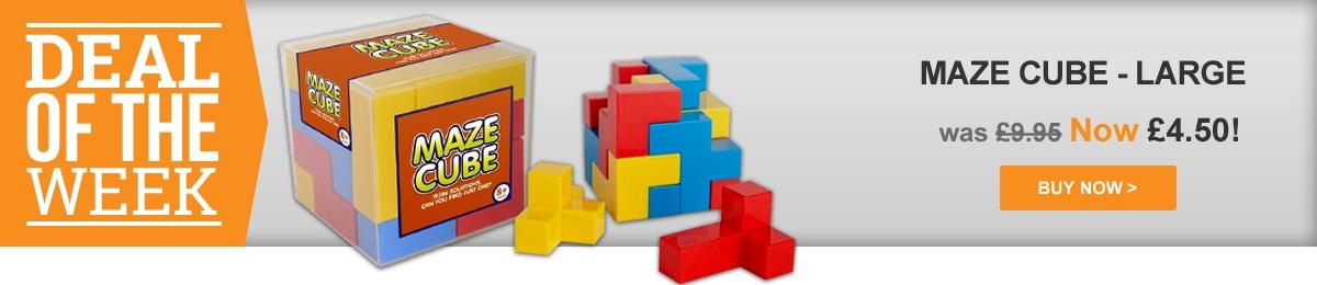 Maze Cube - Large