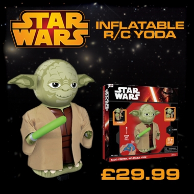 RC Inflatable Yoda Pump and Play - With 11 New Original Sounds