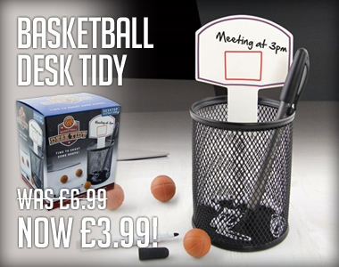 Basketball Desk Tidy