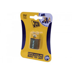 JCB Super Alkaline 9V Batteries - 1 Pack