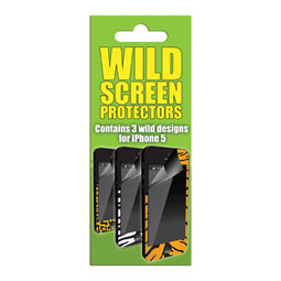 Wild Animal Print Skins 3 Pack – iPhone 5