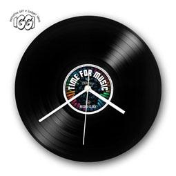 Retro Record Clock: Time For Music