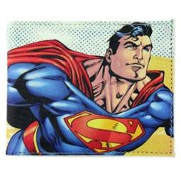 Superman Comic Book Wallet