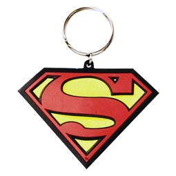 Superman Classic Flexible Keyring