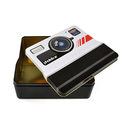 Photobox - Retro Camera Tin