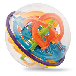 Maze Ball: Spherical Maze Toy