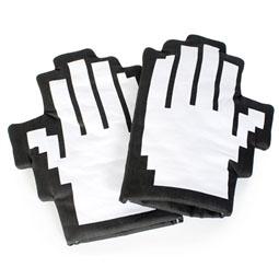 Pixel Hand Oven Mitts