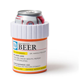 Prescription Style Beer Cooler