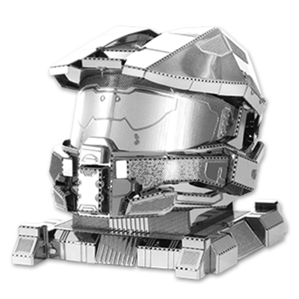 Halo 3D Model Kit: Master Chief Helmet
