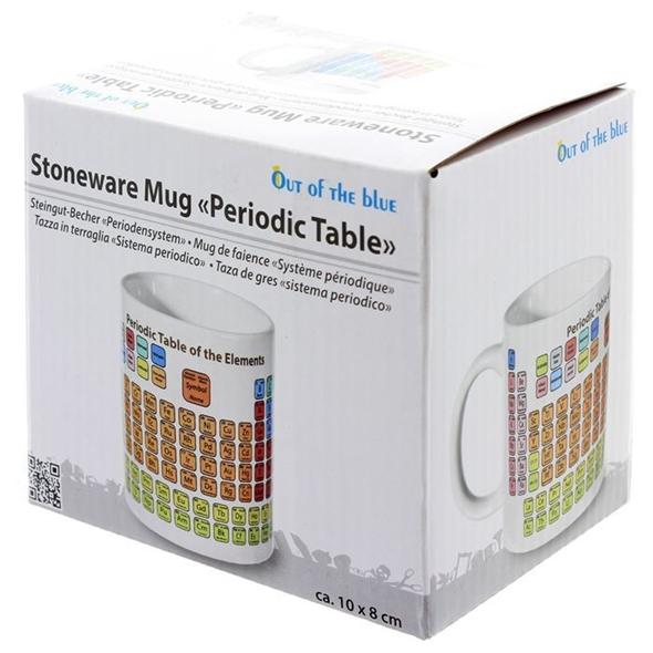 Periodic Table Stoneware Mug