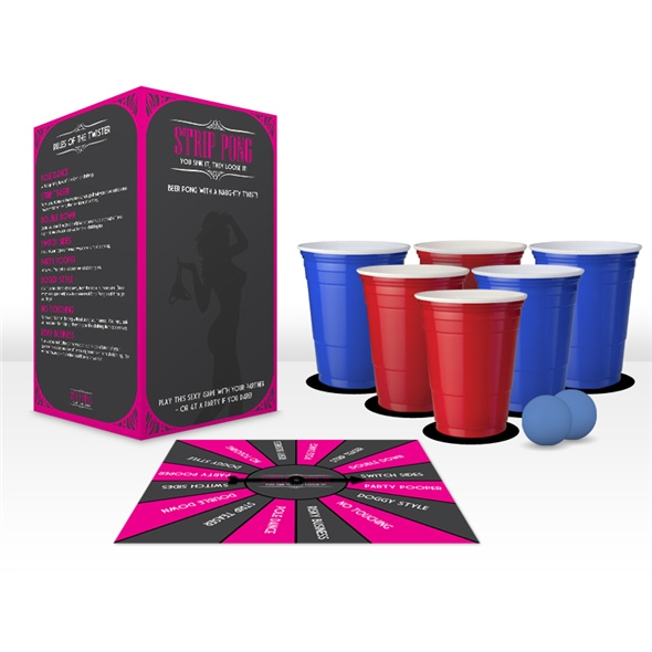 Strip Beer Pong