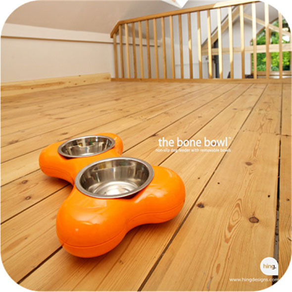 Bone-Shaped Dog Bowl (Small)