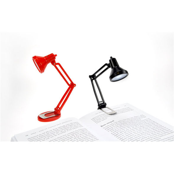 Tiny Tim: Clip-On Book Light