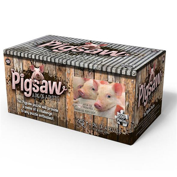 Pigsaw - 550pc Jigsaw Puzzle