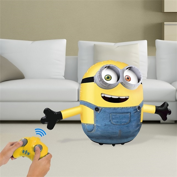 Mini Talking Minion: Inflatable Bob RC Toy