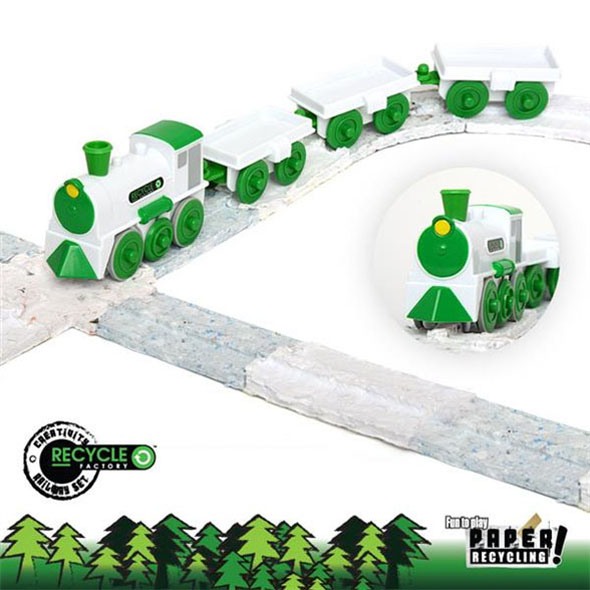 Recycle Factory Train Set