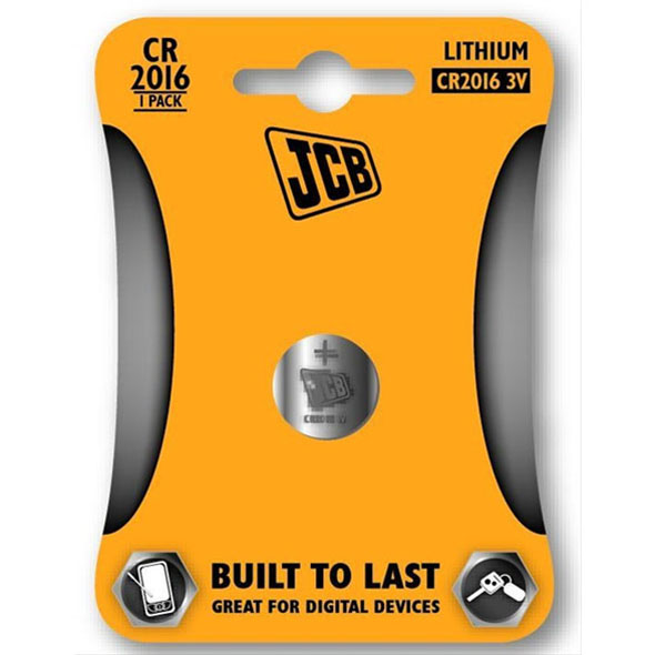 JCB Lithium CR2032 Batteries - 1 Pack