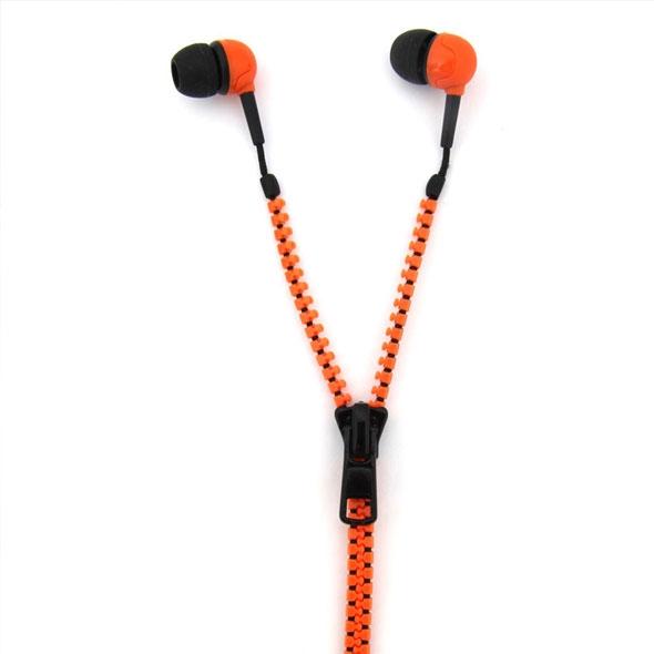 Zip Style Earphones