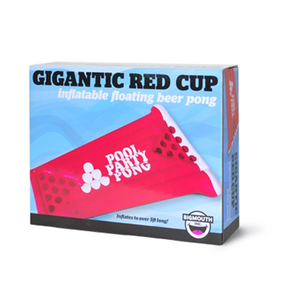Giant Red Cup: Inflatable Beer Pong Float