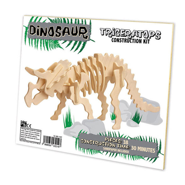 Build Your Own Wooden Triceratops