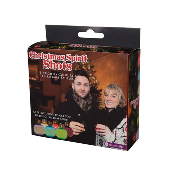 Christmas Spirits: Drinking Flask Christmas Tree Baubles