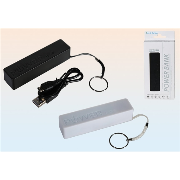 Powerbank - Black or White