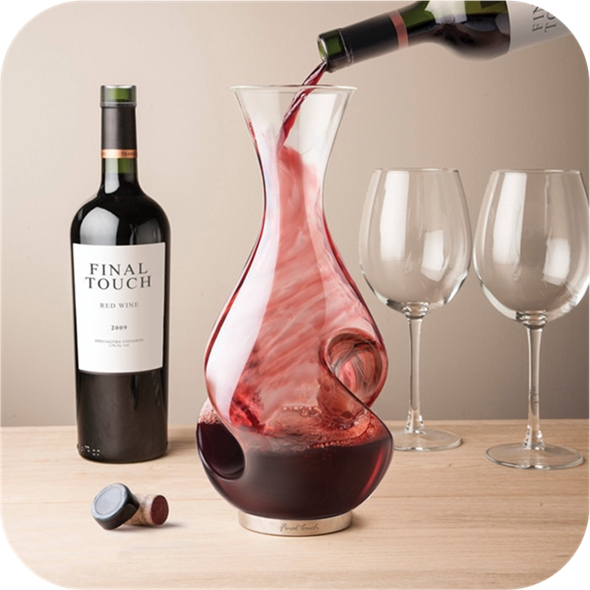 L'Grand Conundrum: Wine Aerator Decanter