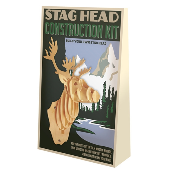 Stag Head Construction Kit