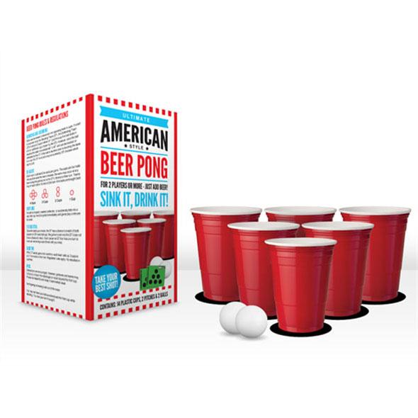 Ultimate American Style Beer Pong Set