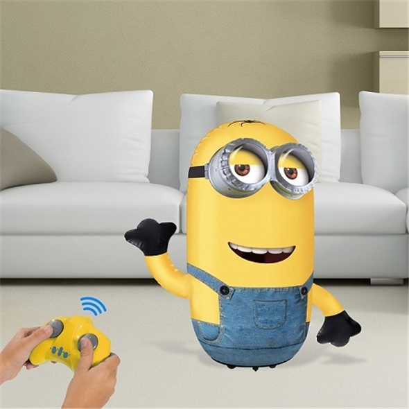 Mini Talking Minion: Inflatable Kevin RC Toy