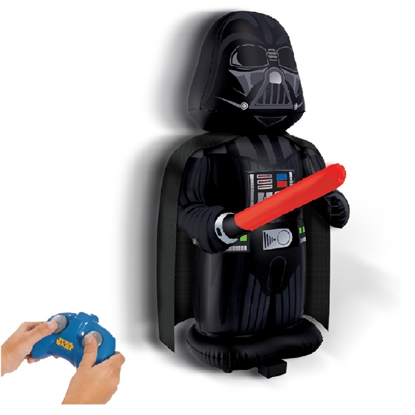 RC Inflatable Darth Vader Pump and Play - With 8 Original Sounds