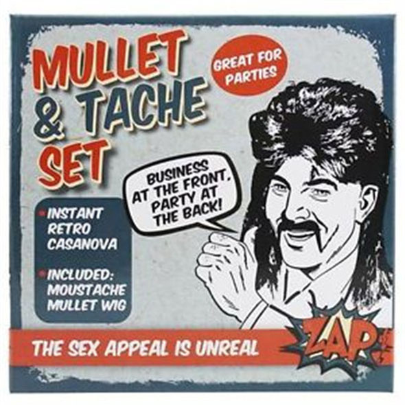 ZAP - Mullet and Tache Set