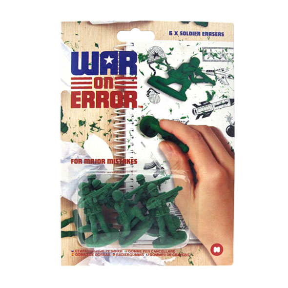 War On Error Rubbers