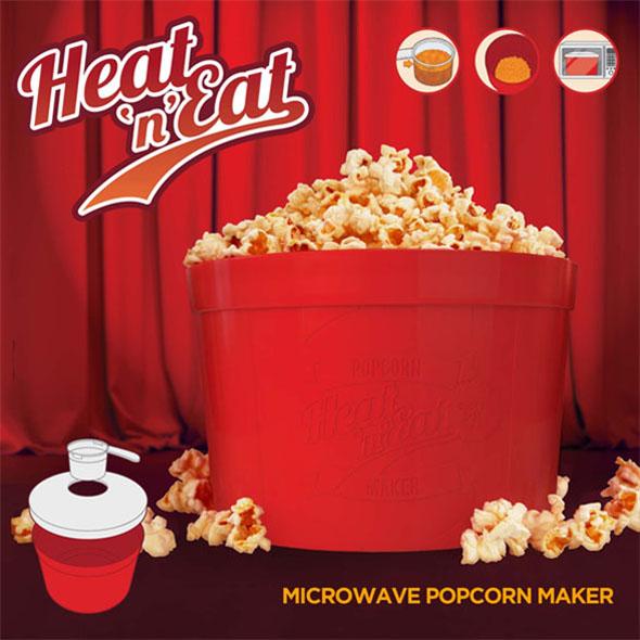 Heat 'n' Eat Popcorn Maker