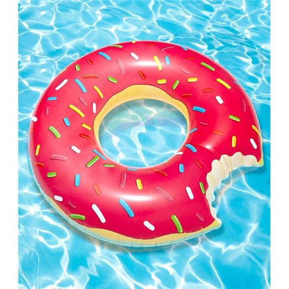 Giant Doughnut Pool Float
