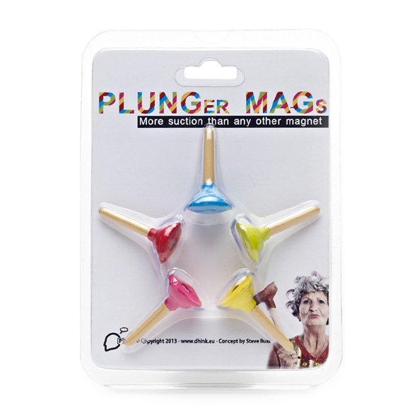 Plunger Fridge Magnets