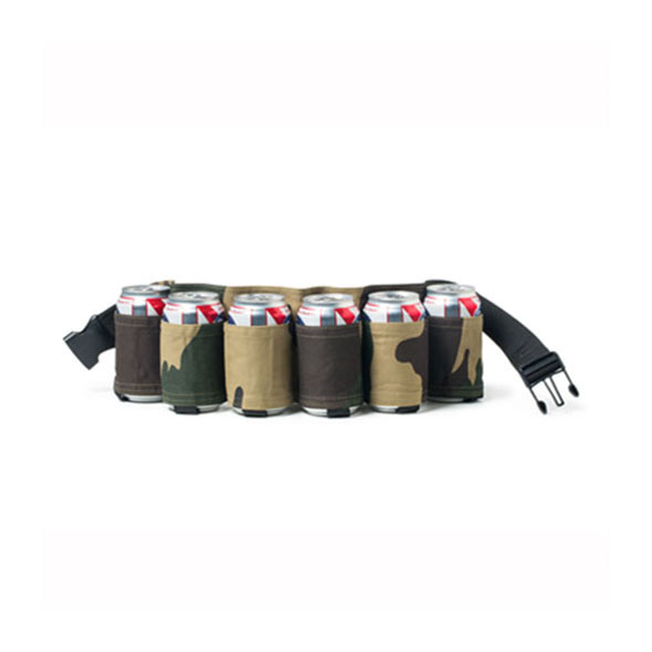 Camo Beer Belt - Six Pack Holder