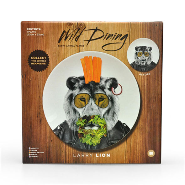 Wild Dining - Lion Motif Dinner Plate