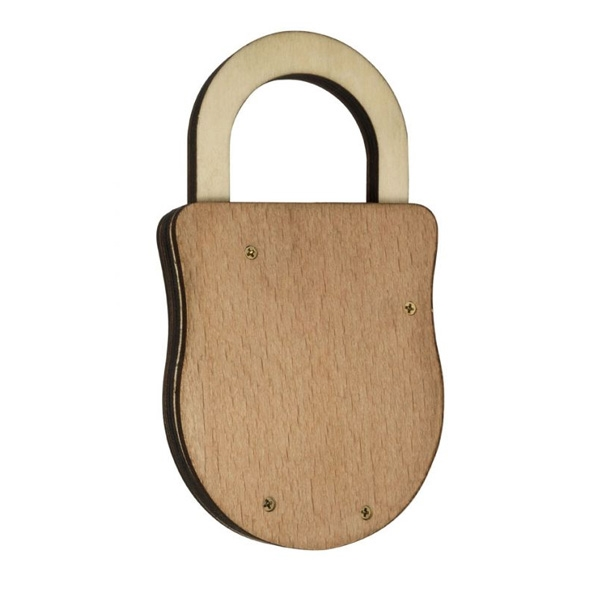 Houdini Wooden Puzzle Lock - The Cunningly Complex Lock