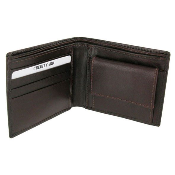 Fashionable Leather Brown Wallet