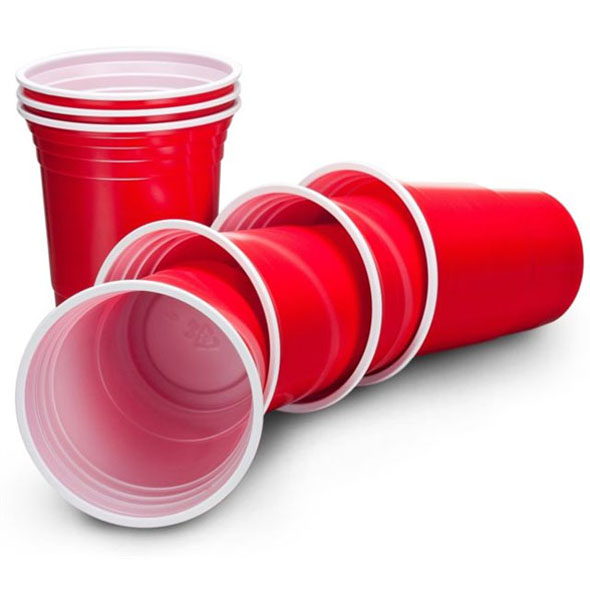 16oz Red Solo Cups