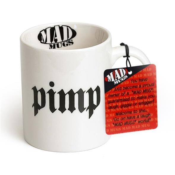 Pimp and Ho Mug Set