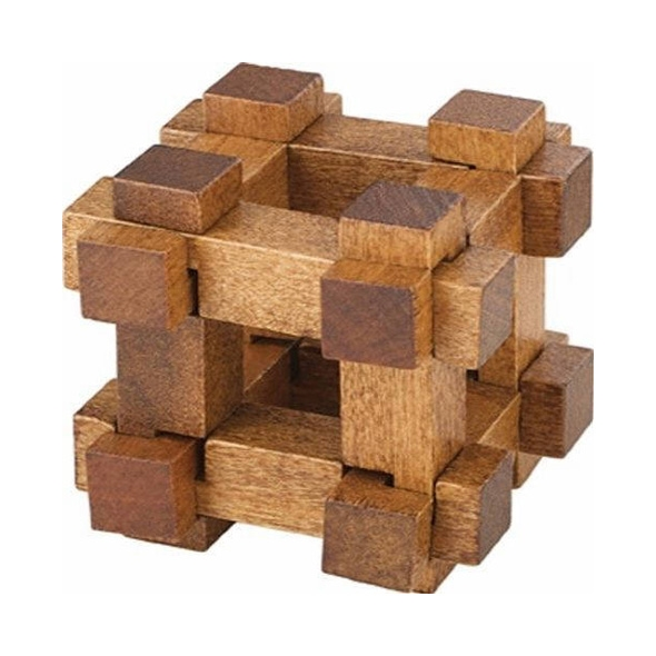 Chunky Wooden Puzzle - Chest
