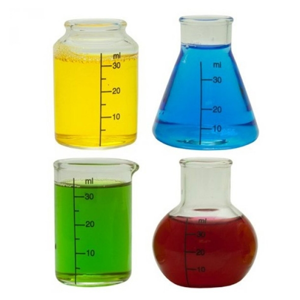 Chemistry Shot Glasses (Set of 4)