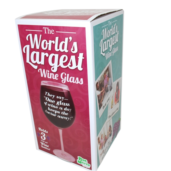 The World's Biggest Wine Glass