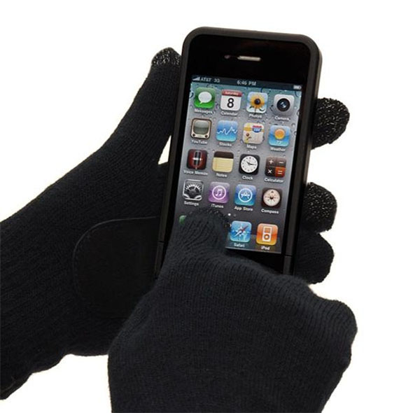 Touch Screen Gloves (Black)