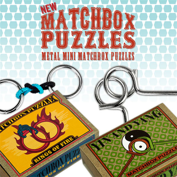 Metal Matchbox Puzzles
