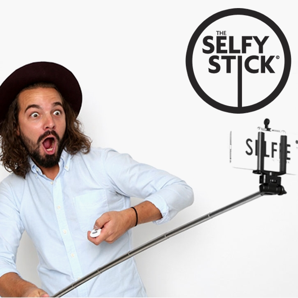 Selfy Stick for iPhone and Android